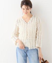 IENA/crochet カーディガン/503010646