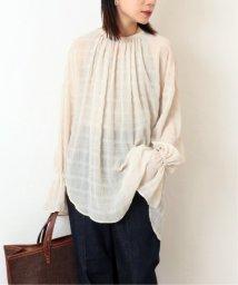 journal standard  L'essage /《予約》【Uhr/ウーア】Open back Shirring Blouse:ブラウス◆/503010732