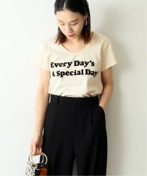 journal standard  L'essage /《予約》【Mixta/ミクスタ】EVERY DAYS A SPECIAL DAYU/NECK T:別注Tシャツ◆/503010737
