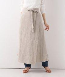 SLOBE IENA/【VERSO 】  LINEN スカート/503010951