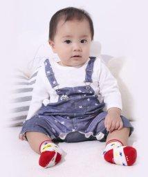 e-baby/天竺デニム風ロンパース/502970990