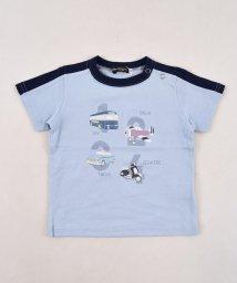 BeBe/天竺乗り物プリントTシャツ/502980799
