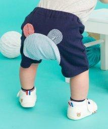 MIKI HOUSE HOT BISCUITS/ベビーパンツ(おしりにクマ&サッカー地)/502989806