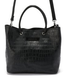 AVIREX/【直営店限定】クロコ型押しレザーバック/ LETHER TOTE BAG/503011180