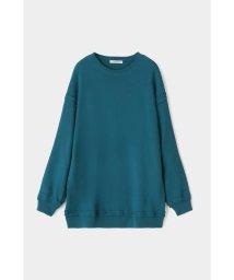 moussy/GATHER SLEEVE SWEAT MINI ドレス/503011522