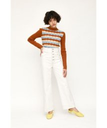SLY/BUTTON FLY HW WIDE FLARE -E/503011526