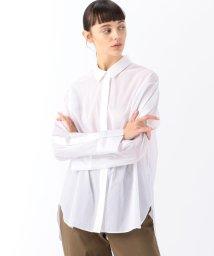 DES PRES/エアリークロス オーバーサイズドシャツ/503012641