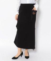 RoyalFlash/ADDICT NOIR/アディクト ノアー/Back Frill Sweat Skirt/503012755