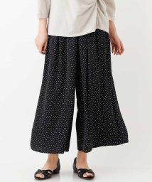 eur3/【大きいサイズ】スカート見え!ギャザーワイドパンツ/503012915