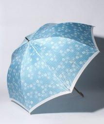 LANVIN en Bleu(umbrella)/LANVIN en Blue(ランバン オン ブルー)傘 【ストライプ マーガレット】/502596972