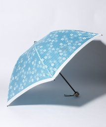LANVIN en Bleu(umbrella)/LANVIN en Blue(ランバン オン ブルー)折りたたみ傘 【ストライプ マーガレット】/502596973