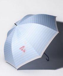 LANVIN en Bleu(umbrella)/LANVIN en Blue(ランバン オン ブルー)傘 【130周年記念 ボーダー】/502596976