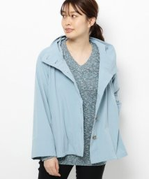 smart pink/【手洗い可】フード付きAラインジャケット/503013510