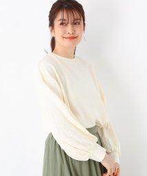 SHOO・LA・RUE/【M-LL】袖ケーブル切替裏毛プルオーバー/503013589
