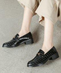 Shoes in Closet/ビット付オックスフォードローファー/501462064
