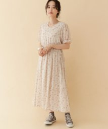 URBAN RESEARCH OUTLET/【ITEMS】Vネック花柄シフォンワンピース/502974288