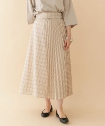 URBAN RESEARCH OUTLET/【ITEMS】プリーツキリカエチェックスカート/502974392