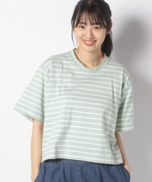 URBAN RESEARCH OUTLET/【ITEMS】クルーネックボーダーTEE/502975649