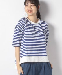 URBAN RESEARCH OUTLET/【ITEMS】C/NボーダールーズTEE/502975777