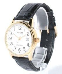 Watch collection/【CASIO】ラウンドアナログアラビアレザーデイト M/502979990