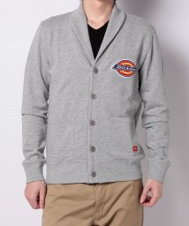 Dickies/【UNISEX】embroidery patched shawl cardigan/502992537