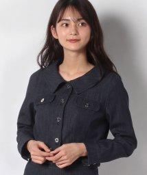 MISS J/【セットアップ対応】ストレッチデニム ブルゾン/502996338
