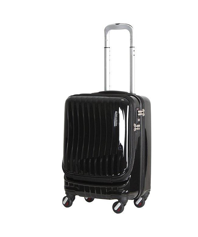 カバンのセレクション フリクエンター クラム スーツケース 機内持ち込み Sサイズ 34L FREQUENTER CLAM 1−210 ユニセックス ブラック系1 在庫 【Bag & Luggage SELECTION】