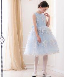 Catherine Cottage/花刺繍チュールレースドレス (120-160cm)/503014517