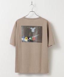 tk.TAKEO KIKUCHI/MARK GONZALES×tk.TAKEO KIKUCHI 別注バックプリントオーバーサイズTシャツ/マークゴンザレス/503014836