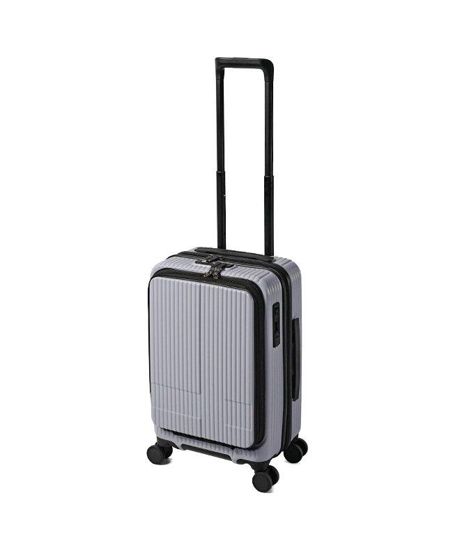 カバンのセレクション イノベーター スーツケース 機内持ち込み Sサイズ 38L フロントオープン 軽量 INNOVATOR INV50 ユニセックス グレー フリー 【Bag & Luggage SELECTION】