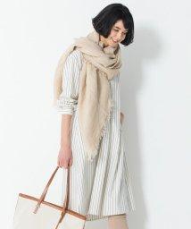 NIJYUSANKU/【中村アンさん着用】スパンシルク Vネック ワンピース(番号F42)/503015407