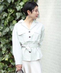 JOINT WORKS/JW コットン麻visベルトツキシャツ/503015453