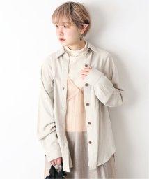 JOINT WORKS/JW VIS麻ロングオーバーサイズシャツ/503018652