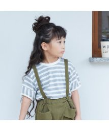 otonato/裾ラウンドボーダーTシャツ/502878477