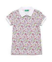 BENETTON (UNITED COLORS OF BENETTON GIRLS)/ピケ総柄ポロシャツ/502976537