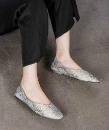 Shoes in Closet/2Way スクエアトゥ Vカット フラットパンプス/502987846
