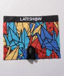 LATESHOW/ボクサーパンツ 折り鶴/502991248