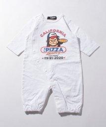 XLARGE KIDS/ピザ屋ファニーゴリラ2WAYオール/502991295