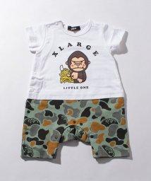 XLARGE KIDS/バナナ×ファニーゴリラ迷彩カバーオール/502991298
