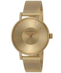 klasse14/klasse14 Volare Gold クラスフォーティーン ゴールドメッシュ 36mm 腕時計 VO14GD002W レディース/502996285