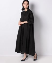 MARcourt/【mizuiro ind】band collar front fly flare shirt OP/502999613