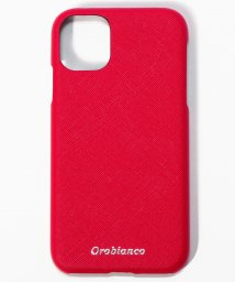 "Orobianco(Smartphonecase)/サフィアーノ調"" PU Leather Back Case(iPhone 11)/502999824"