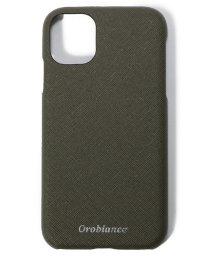 """Orobianco(Smartphonecase)/サフィアーノ調"""" PU Leather Back Case(iPhone 11)/502999824"""