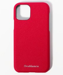 "Orobianco(Smartphonecase)/サフィアーノ調"" PU Leather Back Case(iPhone 11Pro)/502999825"