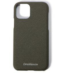 """Orobianco(Smartphonecase)/サフィアーノ調"""" PU Leather Back Case(iPhone 11Pro)/502999825"""