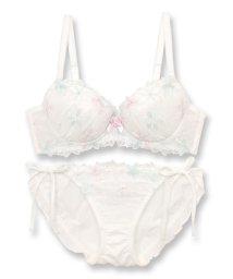 fran de lingerie/Light Flower ライトフラワー ブラ&ショーツセット B65-G75カップ/503007315
