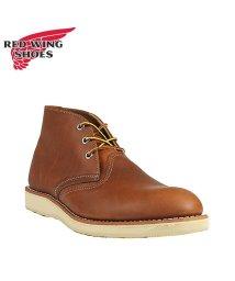REDWINGSHOES/レッドウィング RED WING ブーツ チャッカブーツ クラシック メンズ CLASSIC CHUKKA Dワイズ ブラウン 3140/503010762