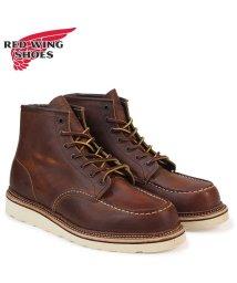 REDWINGSHOES/レッドウィング RED WING ブーツ アイリッシュセッター 6インチ クラシック モック メンズ 6INCH CLASSIC MOC Dワイズ ブラウン 1/503010764