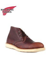 REDWINGSHOES/レッドウィング RED WING ブーツ チャッカブーツ クラシック メンズ CLASSIC CHUKKA Dワイズ ブラウン 3141/503010776