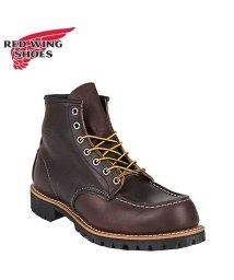REDWINGSHOES/レッドウィング RED WING ブーツ アイリッシュセッター ラフネック メンズ レディース ROUGHNECK 6INCH BOOT Dワイズ ダーク ブラ/503010787